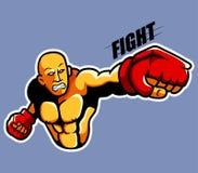 combattente illustrazione di stock