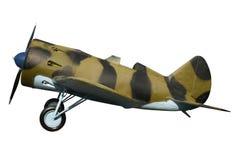 Combattente del monoplano di monoposto Fotografie Stock Libere da Diritti