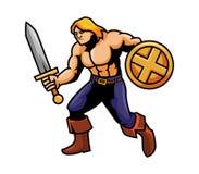 Combattente della spada royalty illustrazione gratis