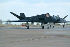 Combattente di azione furtiva F-117 Immagine Stock
