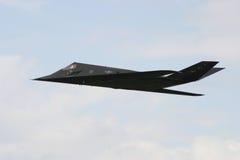 Combattente di azione furtiva F-117 Fotografie Stock Libere da Diritti
