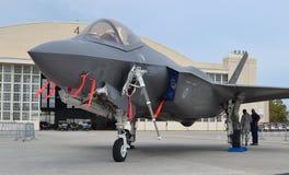 Combattente di colpo del giunto F-35 Fotografie Stock Libere da Diritti