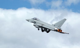 Combattente di jet Fotografia Stock Libera da Diritti