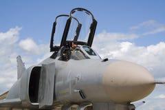 Combattente di jet militare dell'aeronautica Fotografia Stock Libera da Diritti