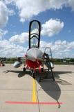 Combattente di jet moderno F-16 Fotografie Stock