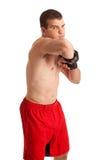 Combattente di MMA Immagine Stock
