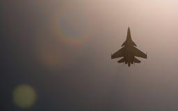Combattente di Sukhoi Su-30SM a MAKS Airshow 2015 Immagini Stock