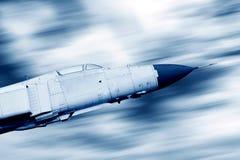 Combattente di volo del cielo Fotografia Stock