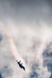 Combattente e bombardiere di Sukhoi Su-34 a MAKS Airshow 2015 Immagine Stock