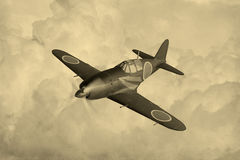 Combattente giapponese di guerra mondiale 2 royalty illustrazione gratis