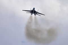 Combattente Mig-29 Fotografia Stock