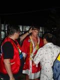 Combattente tailandese di Muay. Fotografia Stock Libera da Diritti