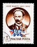 1853-1895) combattenti cubani del poeta & di libertà di Jose Marti (, Personaliti Fotografie Stock