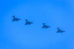 Combattenti di jet nella formazione Fotografie Stock