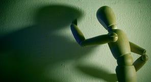 Combatti il vostro ego! Immagini Stock Libere da Diritti