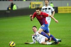 Mezzi di FC Steaua Bucarest FC Gaz Metan Fotografie Stock