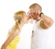 Combattimento delle coppie Fotografia Stock Libera da Diritti