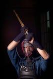 Combattimento di Kendo Immagini Stock Libere da Diritti