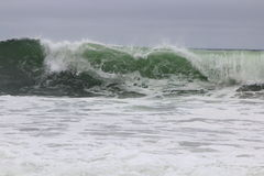 Comber near North Beach. The waves of a comber in San Francisco Royalty Free Stock Photo