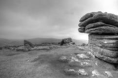 Combestone Tor, Dartmoor zdjęcie royalty free