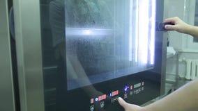 Combi ångareaktivering arkivfilmer