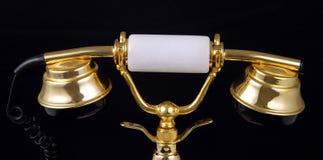 Combiné téléphonique de luxe Image libre de droits