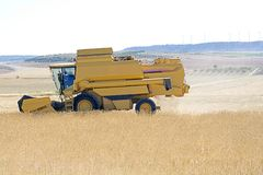 Combin harvester Stock Photo