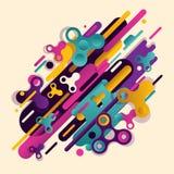 Combinação bonita original de abstração do estilo moderno Imagem de Stock