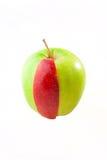 Combinação de fatia verde da maçã e da maçã do vermelho Fotografia de Stock Royalty Free