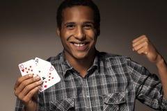 Combinação de vencimento de cartões Fotos de Stock Royalty Free