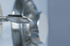 Combinación de la rueda y detalle seguros del clave Imagen de archivo