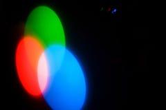 Combinación de los círculos de color Fotografía de archivo libre de regalías