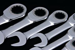 Combinación Spanners2 Imagen de archivo