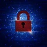 Combinaciones de código de seguridad fotografía de archivo libre de regalías