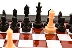 Combinaison d'échecs Images stock