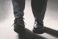 Combinaison de chaussure Photo libre de droits