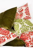 Combination of colorful cushions Royalty Free Stock Image