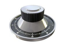 Combination Dial Perspective Royalty Free Stock Photography