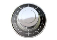 Combination Dial Perspective Stock Photos