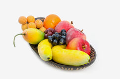 Combination fruits Stock Photo
