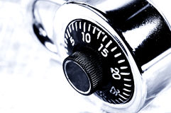 Combination Lock. Photo of a Combination Lock stock image