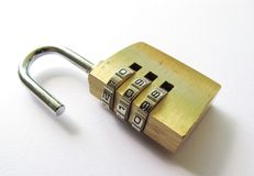 Combination lock Stock Photography