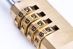 Combination lock Stock Photography