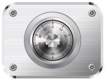 Combination Lock. On white background. EPS-10 stock illustration