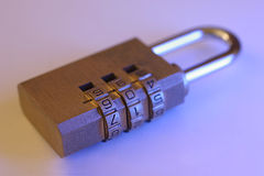 Combination Lock Stock Images