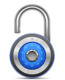 Combination Lock Collection Royalty Free Stock Photography