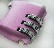 Combination lock fragment Royalty Free Stock Photography