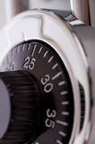 Combination Lock Macro Royalty Free Stock Photos