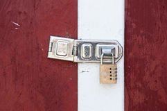 Combination lock Royalty Free Stock Image