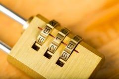 combination lock password Royalty Free Stock Image